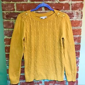Banana Republic Factory Cable Knit Sweater